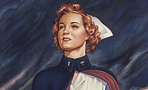 WW II NURSE PHOTO